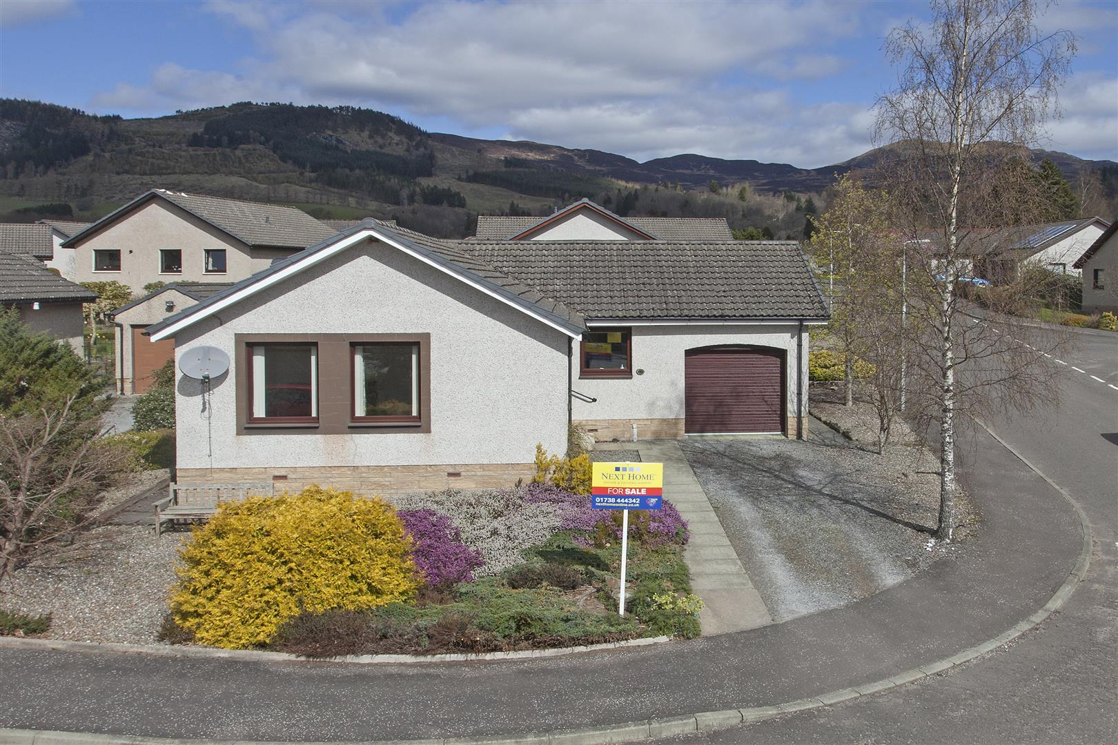 24, Knockard Place, Pitlochry, Perthshire, PH16 5JF, UK